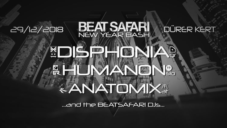 Beatsafari presents DISPHONIA,  - spec_vj_worx | ello