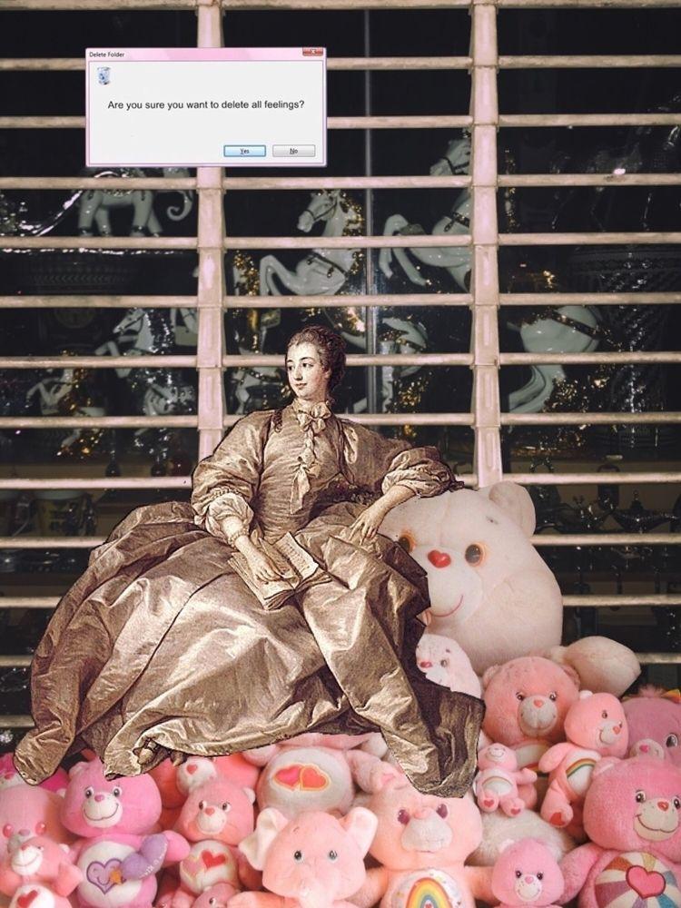 Rococo bears - portrait, rococo - ssschaffer | ello