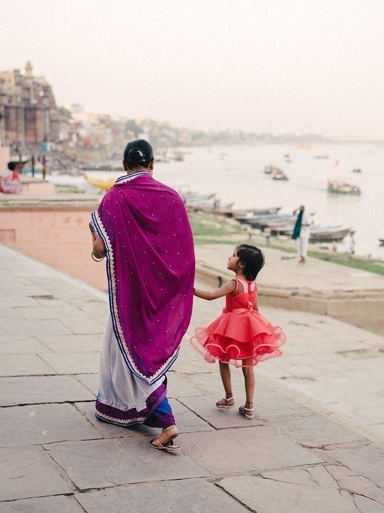 banks River Ganges Varanasi, In - jorishermans   ello