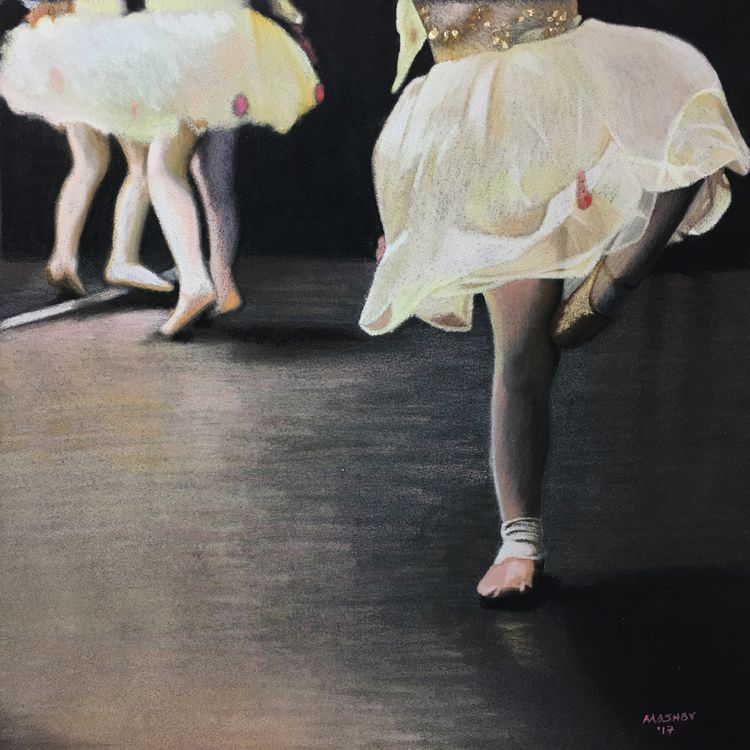 'Dance watching' 16 Pastel 2107 - micheleashby | ello