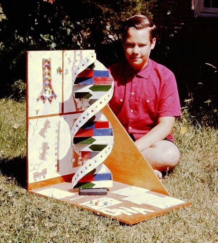 built DNA model talked replicat - ccruzme | ello