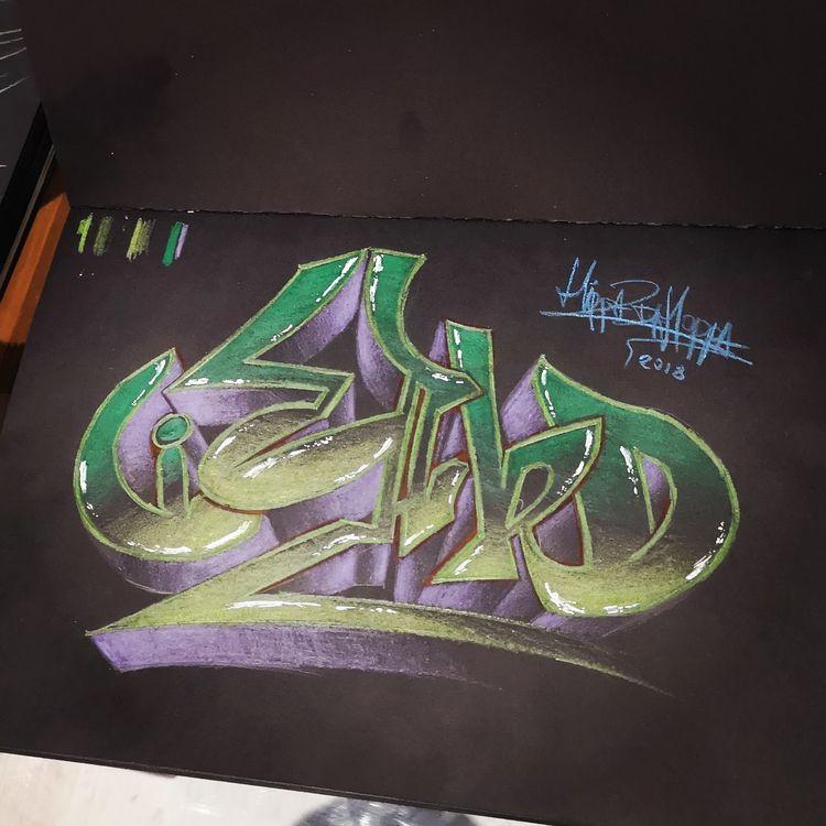 pencil, art, graffiti, sketch - wuspirit   ello