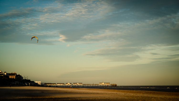 Kite Flying Southwold - photography - davidhawkinsweeks | ello