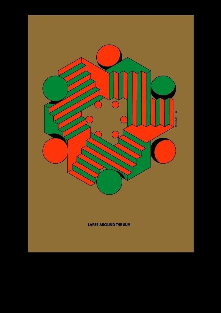 poster series exploring visual  - studio-io | ello