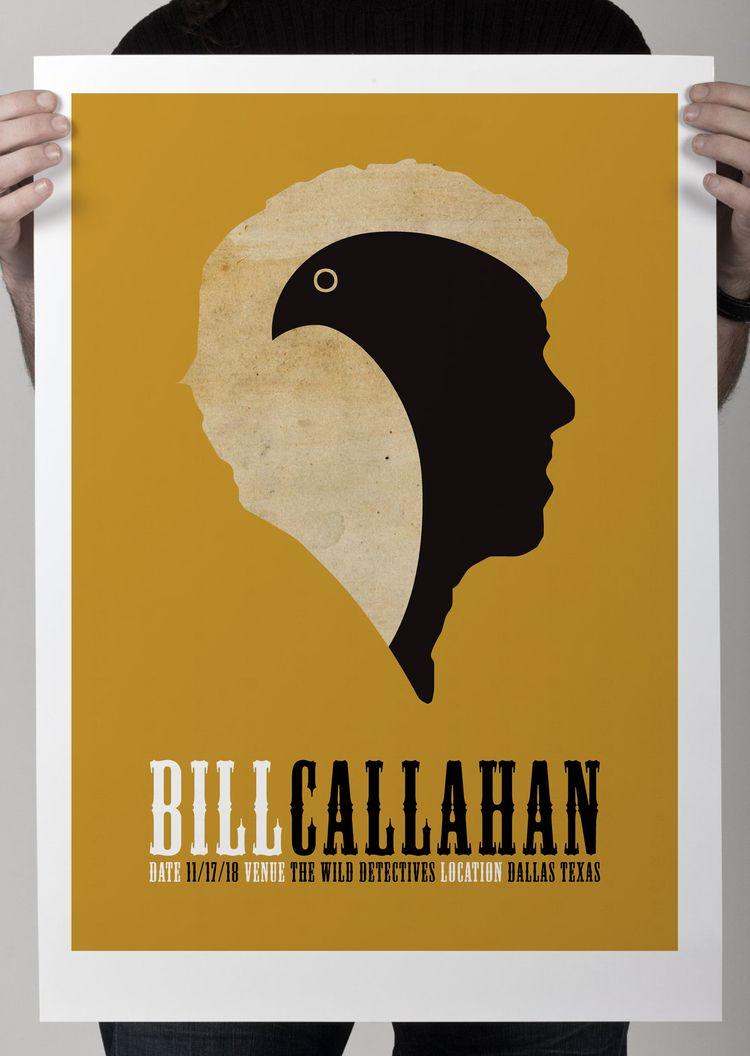 Bill Callahan Poster Website ht - puntoaparte | ello