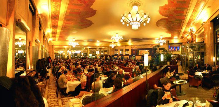 Brasserie Georges stuning ceili - thisislyon | ello