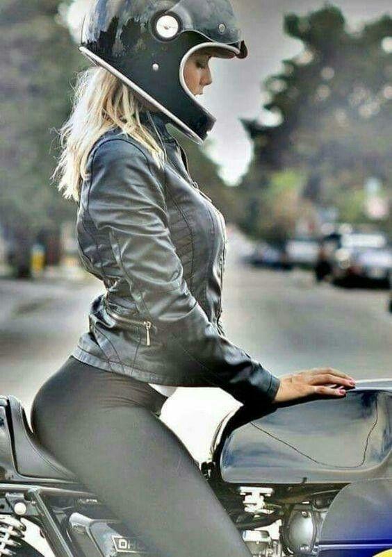 motorcycle lady - deniseling | ello
