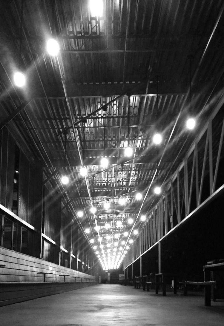 Empty Places - blackandwhite, lights - ranjiroo   ello