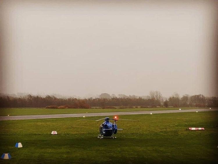 Træningshelikopter fra ambulanc - ekvd | ello