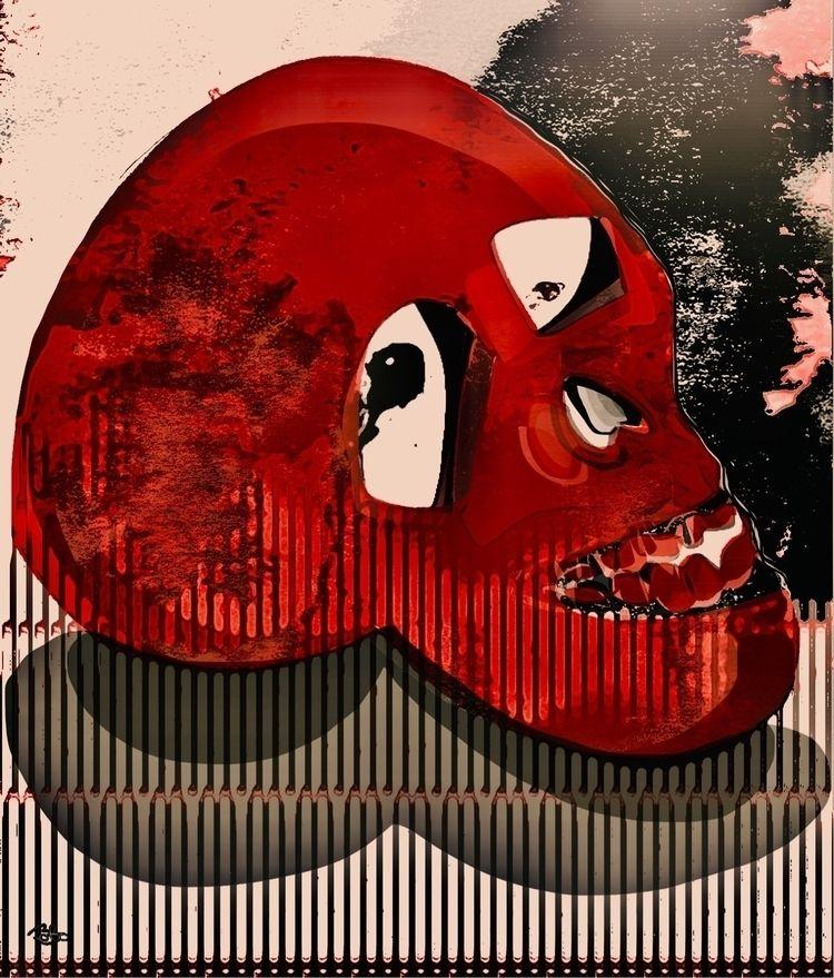 Red Skull Refrigerator, Avoid M - bobogolem_soylent-greenberg | ello