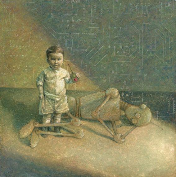 painting album Goodnight Machin - sxipshirey | ello