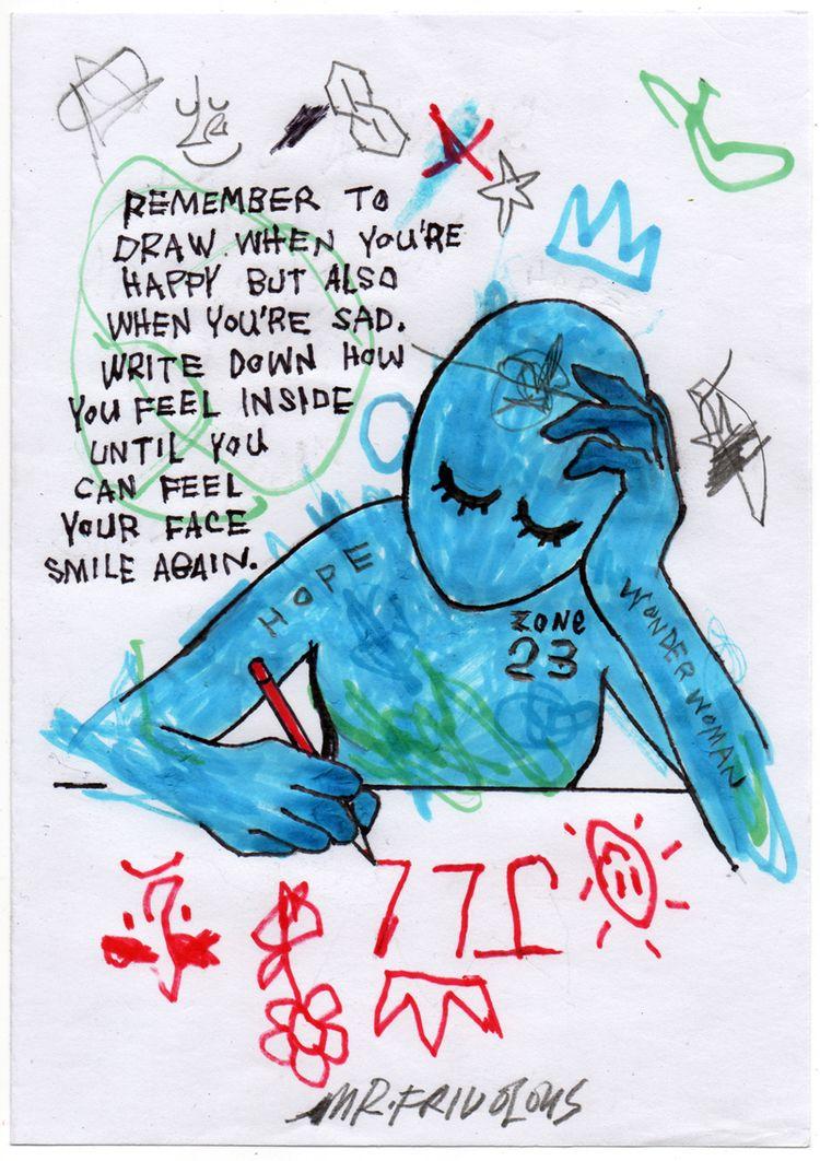 DRAWING - mrfrivolous, art, fineart - mrfrivolous | ello