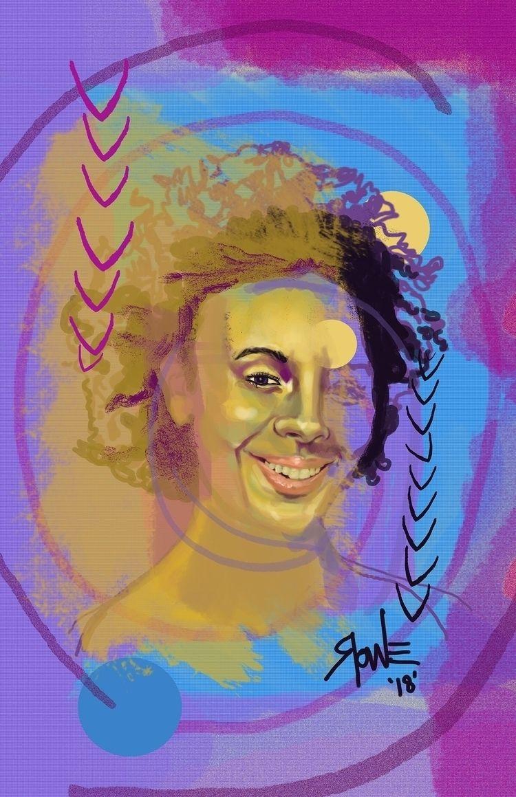 Random portrait 2018 - pushspace - kylerowe | ello