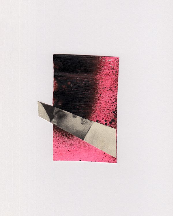 Touch 2018. Paper collage - collageart - kat_schwarz | ello
