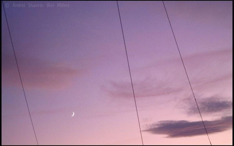 Moon • Molodik Andrei Shavirin  - rei_miller | ello