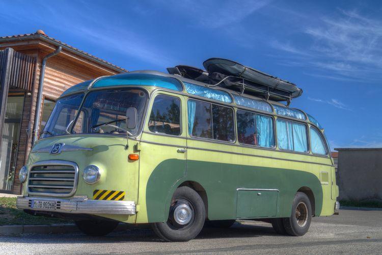 Hippie transportation  - transport - rvdkimmenade | ello