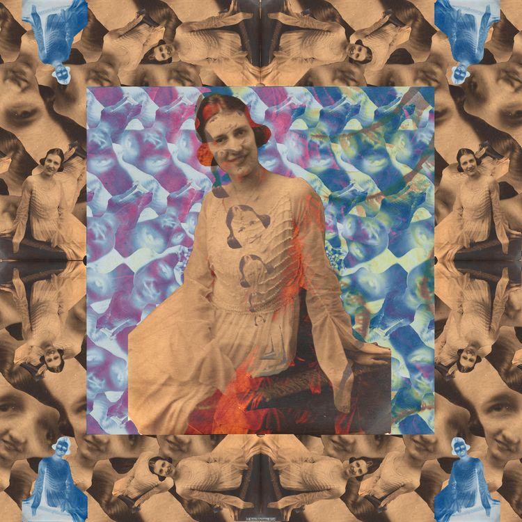 Polly Morph (2018). Digital col - retrocollage | ello