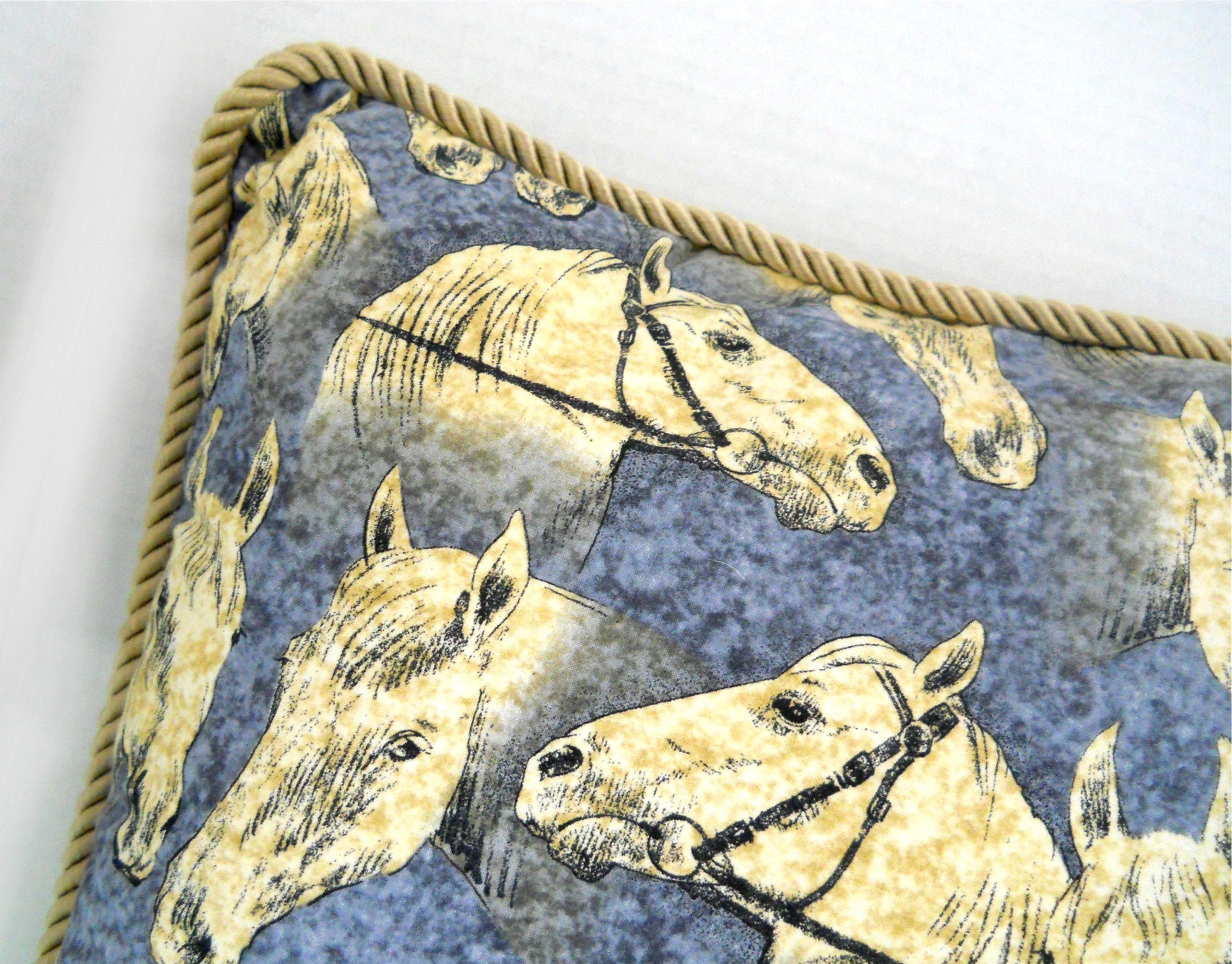 Horse Motif Pillow (20.5 18)  - giftideas - theresa-marchione | ello