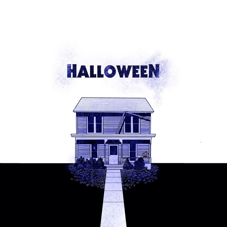 Horror movie houses - illustration - stevenjcompton | ello