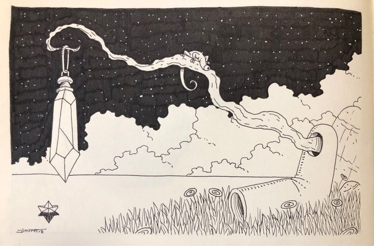 cristal, sleep, art, drawing - jimmy-draws | ello