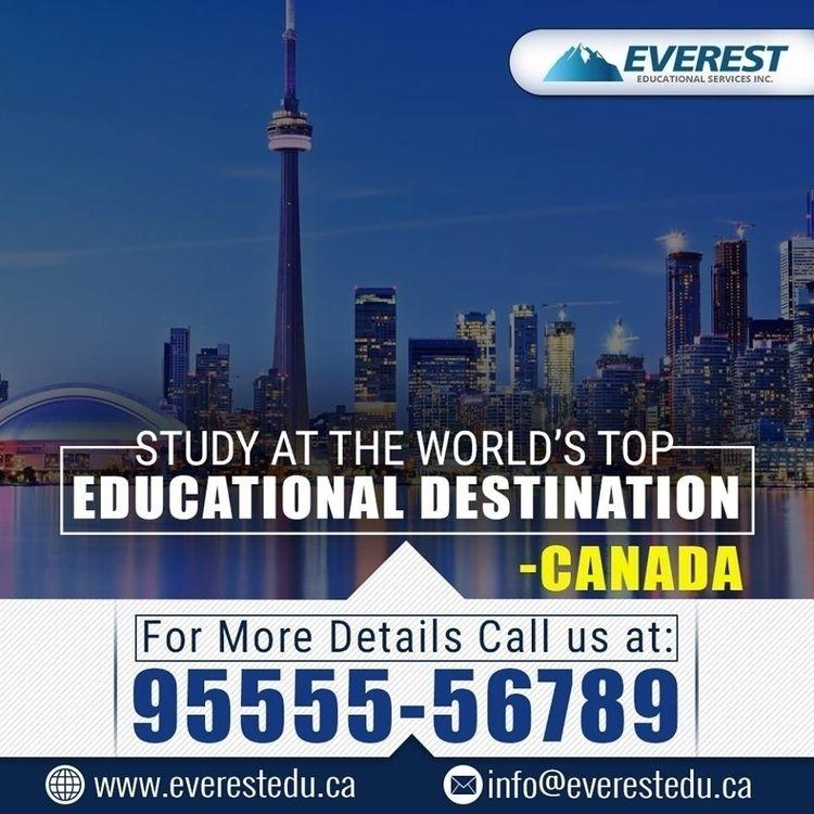 Call +919555556789 Study Canada - everesteducational | ello
