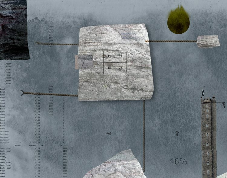 Measures Desert graphic / print - markograf | ello