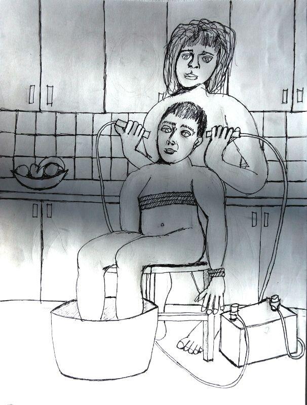 Laundry Tub Pencil, pen paper,  - artchrisdale | ello