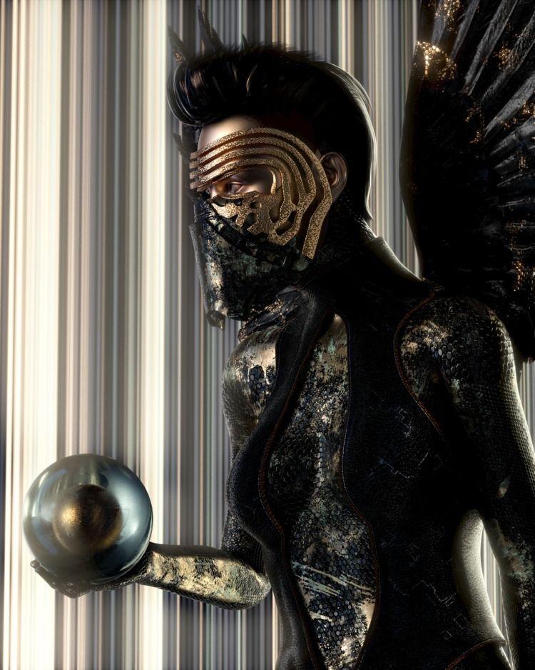 K411: Headhunter - texture, cyberpunk - skeeva | ello