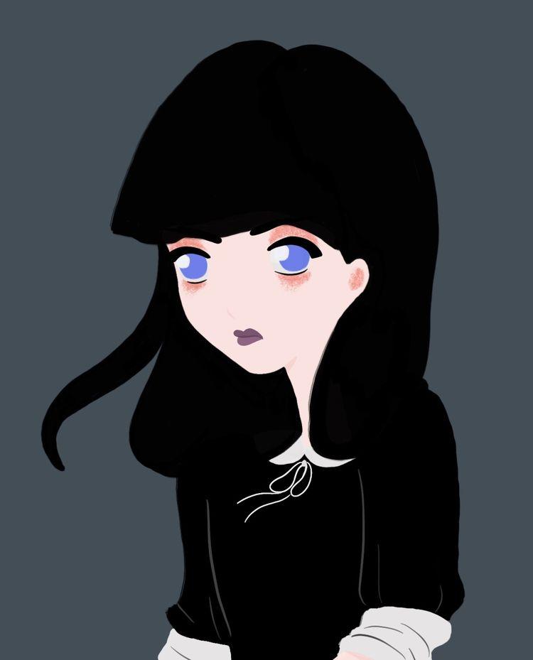 call Gothic Girl - woman, girl, female - wildflower86 | ello