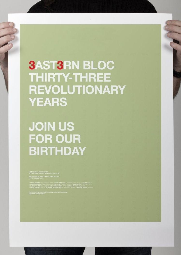 Eastern Bloc 33rd Birthday Cele - puntoaparte | ello