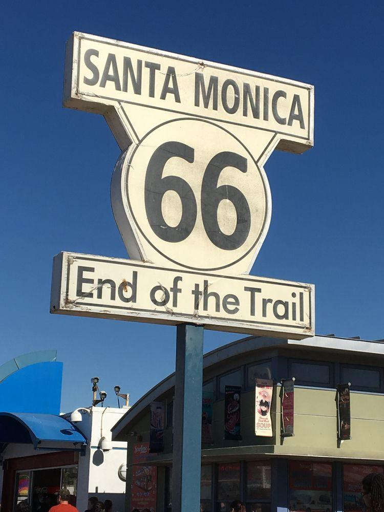 SantaMonica, Route66, EndoftheTrail - phoenixk | ello
