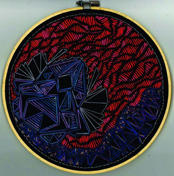 2018 embroidery - neon gladiato - ctrl-alt-delange | ello