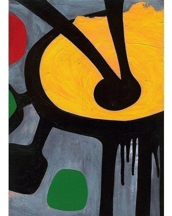 SUNDIAL - Abstract art painting - kolkalis   ello