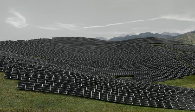 Andreas Gursky Les Mées, 2016 D - modernism_is_crap | ello
