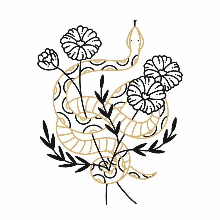 illustration, art, drawing, tattoo - alicecquaglia | ello