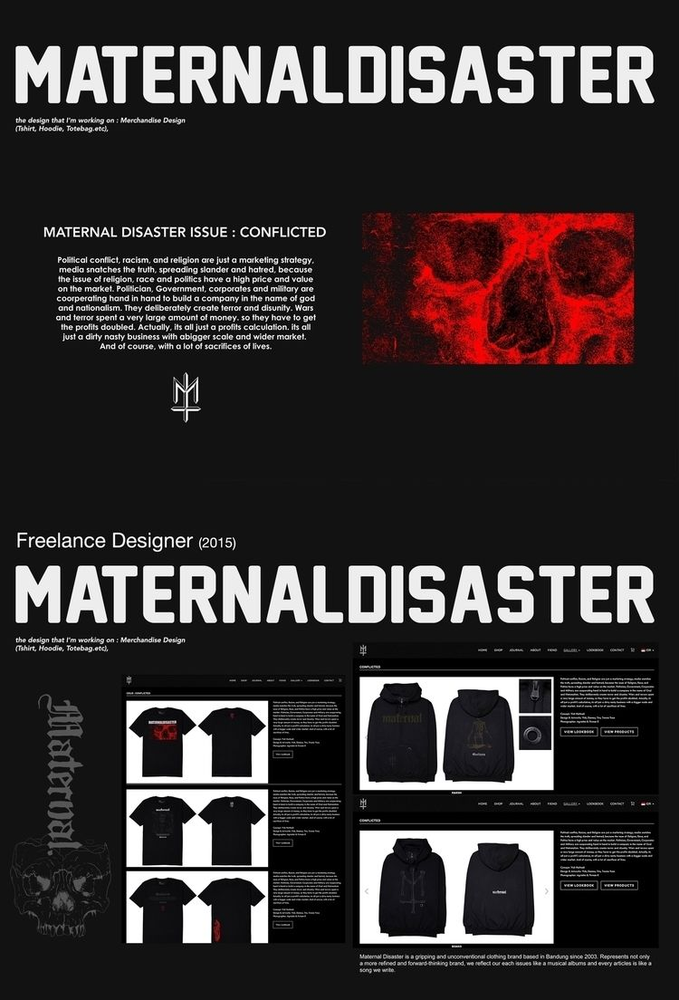 Merchandise/design MATERNAL DIS - chronic_arguing | ello
