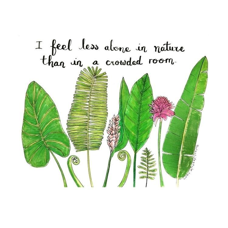 feel nature crowded room. Sketc - bulanlifestyle   ello