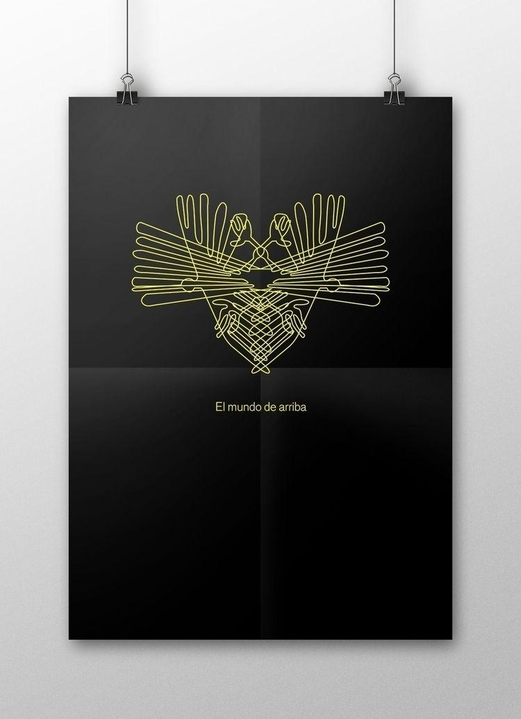 poster series gods incas. belon - gabrielagietl | ello