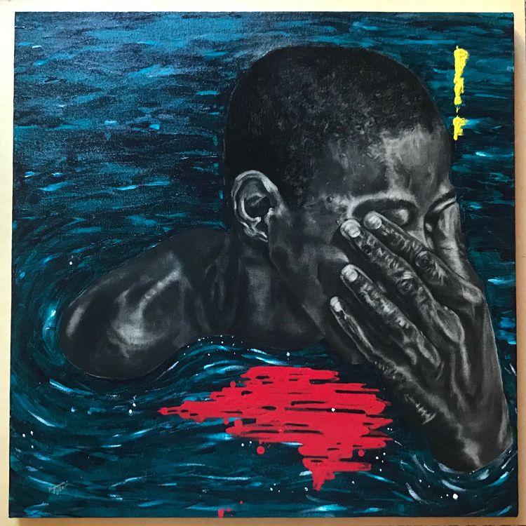 Breathing hard constantly drown - karentylerdesign | ello