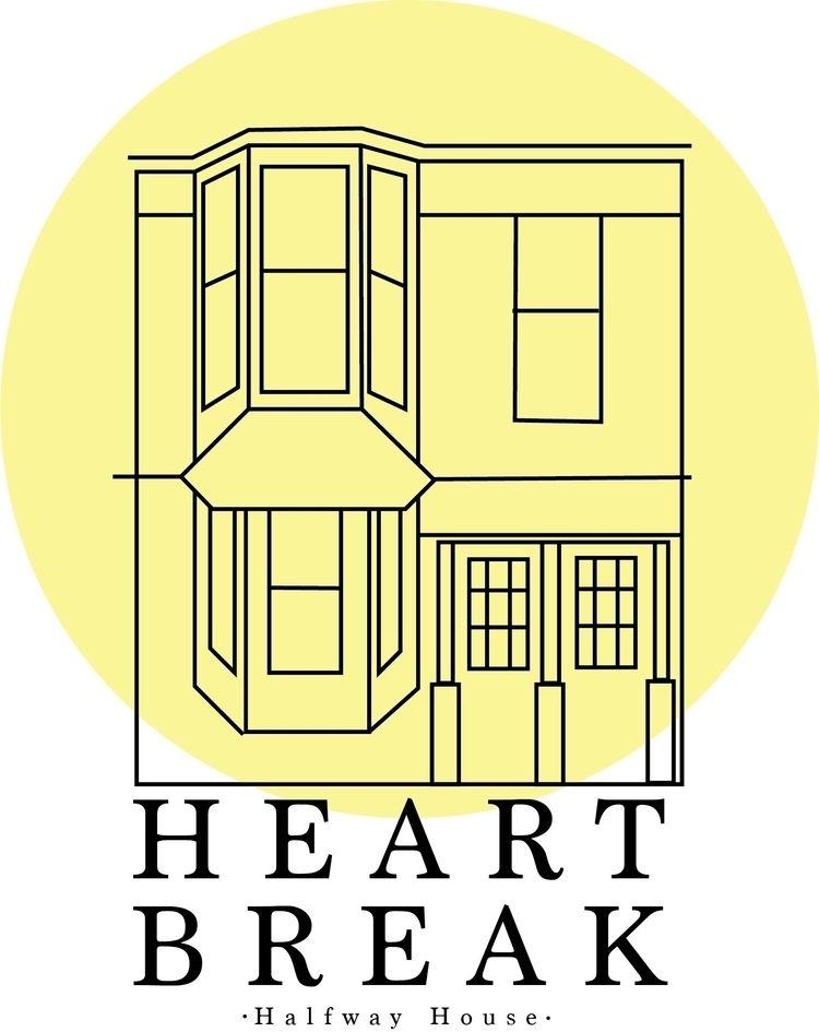 Heartbreak Halfway House Digita - alixjoycedesign | ello