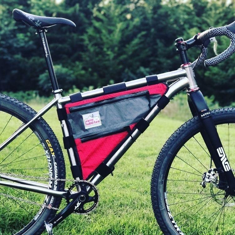 custom frame bag Salsa titanium - alpine_luddites | ello