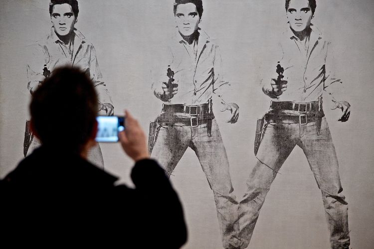 triple - andywarhol, Elvis, art - loubopp   ello