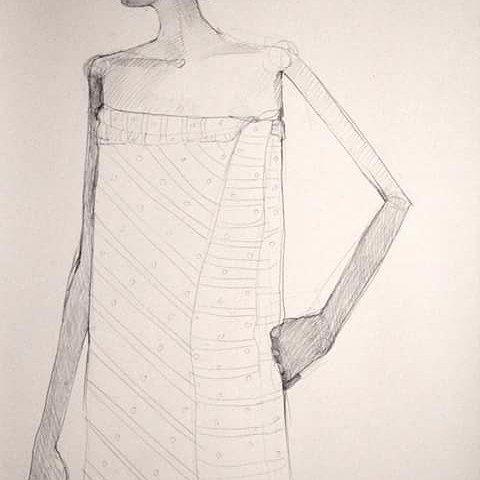 Sketch girl village - olivia_pendergast | ello