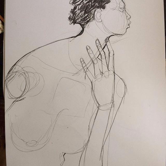 Sketch Nude - olivia_pendergast | ello