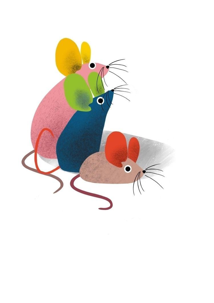 friends coming studio - illustration - rociovigne | ello