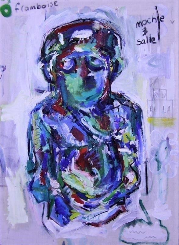 PTAH - 45 60cm Acrylic paint, c - samuelsultana | ello