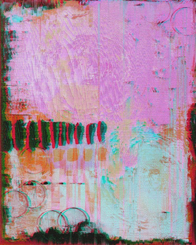 Number (Pink Blue Cyberpunk)),  - jrdsctt | ello