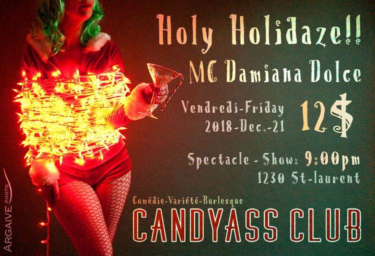 Holy Holidaze Cabaret Fun shena - velmacandyass | ello
