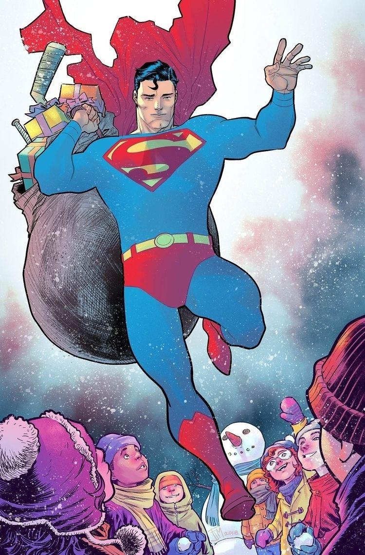 Francis Manapul - Action Comics - l-h-m-c-h-s | ello