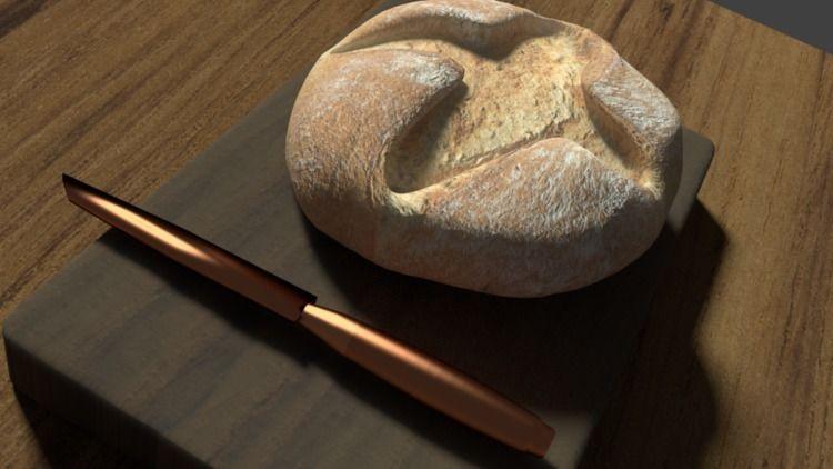 3D bread sweet bread - tinkerbee17 | ello